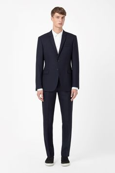 COS | Textured wool blazer