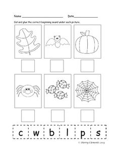 math worksheet : 1000 images about beginning sounds on pinterest  beginning  : Beginning Sounds Kindergarten Worksheets