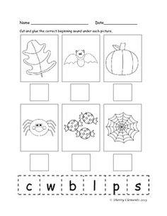 math worksheet : 1000 images about beginning sounds on pinterest  beginning  : Beginning Sounds Kindergarten Worksheets