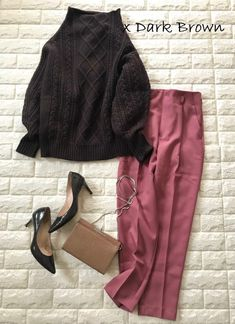 Modest Wear, Minimal Chic, Office Ladies, Classy And Fabulous, Colorful Fashion, Get The Look, Dress Pants, Style Me, Winter Fashion