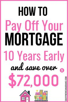 Tips Of Paying Off Mortgage Early 2019 Mortgage Tips, Mortgage Calculator, Mortgage Payment, Paying Off Mortgage Faster, Pay Off Mortgage Early, Money Tips, Money Saving Tips, Debt Free Living