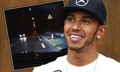 Hamilton criticised for driving at speed on public road