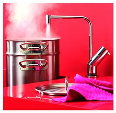 Speed up your cooking time and throw away the kettle with the Quooker Boiling Water Tap.