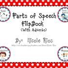 FREEBIE - Reviews Nouns, Verbs, Adjectives, Pronouns, and Adverbs.