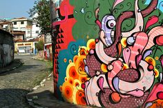 "Beco do Batman's (""Batman Alley"") — In Vila Madalena, a colorful alley of art"