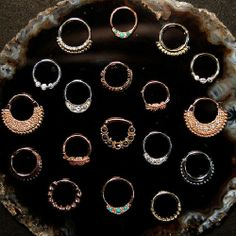 BVLA. - so many pretties for my septum.