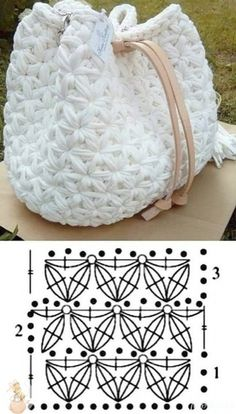 Hairpin Lace Crochet, Wire Crochet, Crochet Motif, Crochet Crafts, Crochet Projects, Knit Crochet, Diy Crafts, Crochet Handbags, Crochet Purses