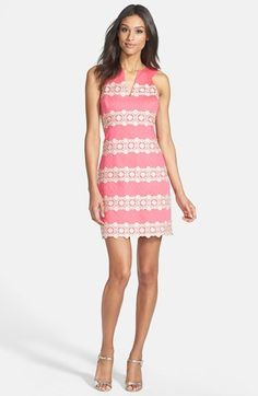 Lilly Pulitzer Striped Lace Dress