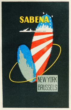 Sabena NY Brussels