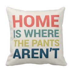 funny pillows + funny throw pillows