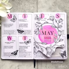 These bullet journal weekly spread ideas will inspire you to create the most amazing bullet journal. Bullet Journal School, Bullet Journal Writing, Bullet Journal Aesthetic, Bullet Journal Notebook, Bullet Journal Themes, Bullet Journal Inspo, Bullet Journal Layout, Bullet Journal Spread, Journal Inspiration