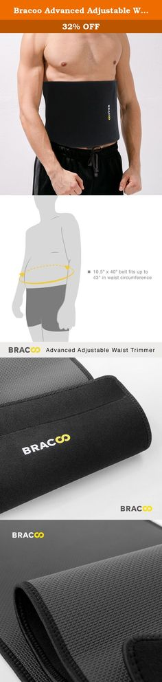 Bracoo Advanced Adjustable Waist Trimmer Belt,Wider Workout Thermal Band,Weight Loss Slimming Wrap,Non Slip Lightweight Back Support,Men and Women. Bracoo specializes in combining innovative technology and high quality materials to produce sporting equipment like no others. Each piece is made with superior craftsmanship and examined by the highest standards in the industry. Every Bracoo product aims to help you achieve your maximum potential on and off the court. From performance…