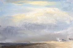 "Daily Paintworks - ""Just before the storm"" - Original Fine Art for Sale - © Philine van der Vegte"