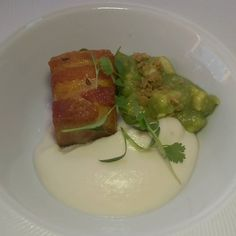 Amazing 48 pork belly from @corazonymiel using @laspalmassauces #festejaconlaspalmas  #losangeles  #dtla #foodie #foodporn #eatla  #dinela  #hungry #foodgasm  #like #live #follow #foodiegram  #foodgasm  #delicious #porkbelly
