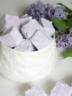 guimauves violette recette pure gourmandise puregourmandise