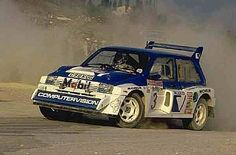 The MG Metro was Austin-Rover's entry into Group B, the controversial rallying category that gave us a series of spectacular cars before being banned Rover Metro, Motor Car, Motor Sport, Rally Car, Car And Driver, Jdm, Cars Motorcycles, Cool Cars, Race Cars
