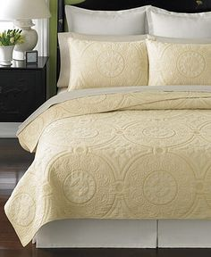 Martha Stewart Collection Bedding, Cornice Quilts - Bedding Collections - Bed & Bath - Macy's