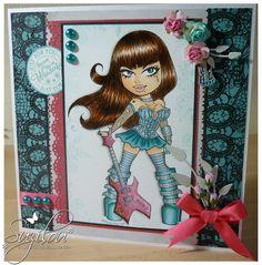 Handmade Cards - Kenny K