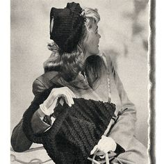 This particular crochet hat (pattern), almost bonnet styled in the way it sits way back on the head, has not crown .... thus, an open crown for a peek a poo effect. There is veiling, that attaches with a button to the front sides of the hat, that drapes down and around, somewhat like a collar.