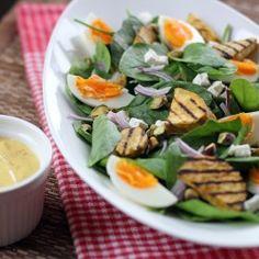 Kumara and Baby Spinach Salad