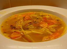 Sopa de Pollo...Cuban Style Chicken Soup