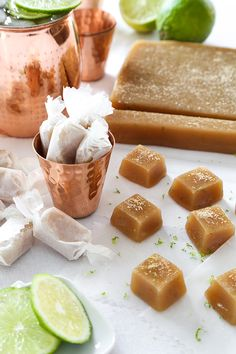 Moscow Mule Soft Caramels | Sprinkle Bakes