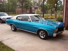 1972 Chevelle Malibu.... mine was Kelly Green with a white vinyl top.... coolest car I ever owned!!!
