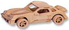 3-D Wooden Puzzle - Small Car Model P-911 -Affordable Gift for your Little One! Item #DCHI-WPZ-P066A All4LessShop http://www.amazon.com/dp/B004QDYDTQ/ref=cm_sw_r_pi_dp_YkTiwb0SBTA31