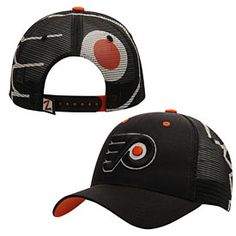 118545a6546 Get this Philadelphia Flyers Screen Play Trucker Snapback Adjustable Cap at  PhillyTeamStore.com