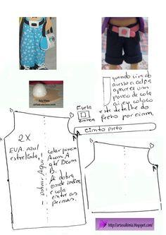El Rincon Fofuchero: Accesorios :pantalones