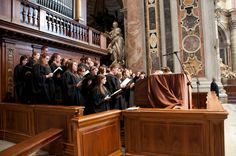 As expected the music was changed when we arrived...we were even required to sing with the priest...last minute...and in Italian!