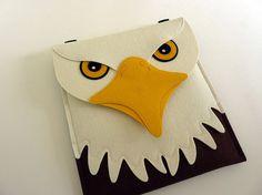 Bald eagle iPad case - Ready to ship