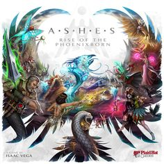Want 2016/17. Ashes: Rise of the Phoenixborn. Not yet out. Pre-order available. I'll wait as my girls are too young, but this is a very cool deck builder!