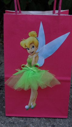 Thinkerbell party theme!!!! Disney Thinkerbell 6 Birthday Party Favor by FantastikCreations, $19.00