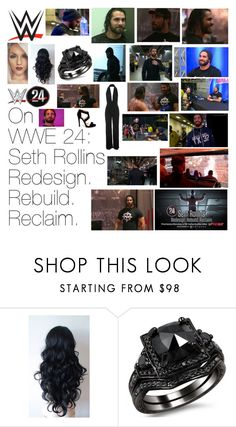 """""""On WWE 24: Seth Rollins Redesign.Rebuild.Reclaim."""" by wwediva72 ❤ liked on Polyvore featuring beauty"""