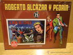 ROBERTO ALCÁZAR Y PEDRÍN. TOMO 25. EDITORIAL PLANETA - 2010 / PRECINTADO