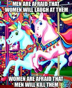 'Feminist Lisa Frank' attacks patriarchy with unicorns, rainbows