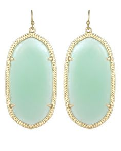 Danielle Earrings in Chalcedony - Kendra Scott Jewelry. Take 15% off from 5pm-midnight with code PERFECTPAIR at checkout!