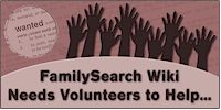 Wiki Volunteers Wanted