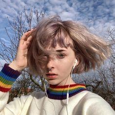 Прически Для Девочек, Прически, Зеленые Волосы, Прически В Стиле Эмо, Роскошные Волосы, Короткие Окрашенные Волосы, Коротковолосые Девушки, Прически И Макияж