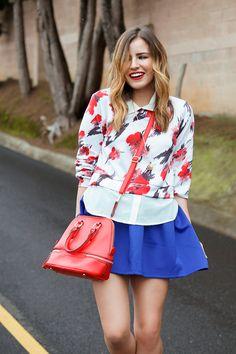 #FashionBySIMAN & Stylish Everywhere: Los estampados florales son el perfecto complemento en tu look para lucir moderna y femenina.