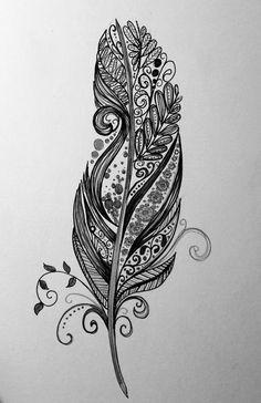 Картинка с тегом «feather, drawing, and art»