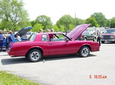 This lil red 1985 Monte Carlo with under 50K miles is my fun car.  Yep it is fun to drive too.