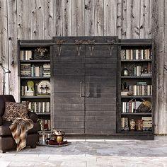 Baumann Black 112 Media Center | Arhaus Furniture
