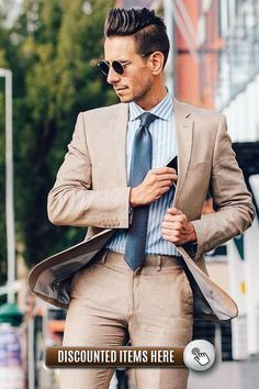 These Gentleman Outfit Ideas will absolutely revamp your style game! Check them all here. True Gentleman, Gentleman Style, Business Attire For Men, Im Online, Formal Wear, Style Guides, Cufflinks, Outfit Ideas, Mens Fashion