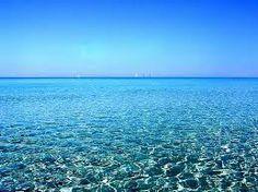 mar azul -