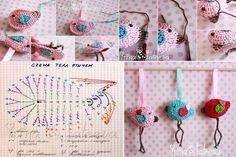 Little cute birds | Crochetz.com