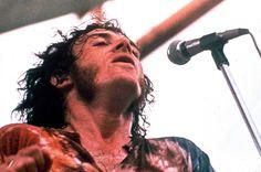 Woodstock Festival of Arts and Music at Bethel, New York, August 1969, Joe Cocker performing . Joe Cocker