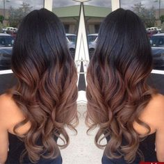ideas hair highlights diy balayage brunettes for 2019 Ombre Hair Color, Brown Hair Colors, Best Hair Color, Hair Color Ideas For Black Hair, Balayage Brunette, Balayage Hair, Short Balayage, Brown Balayage, Haircuts For Wavy Hair