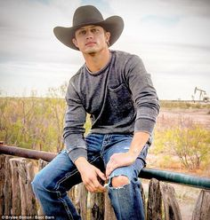 Bonner Bolton has turned from cowboy to model and international heartthrob after being signed with IMGModels, who have Bella Hadid and Rosie Huntingdon-Whiteley on their books